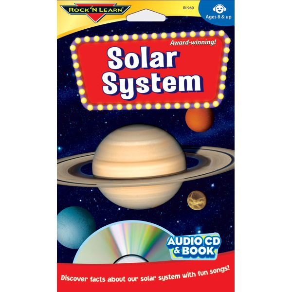 Solar System Audio C D  and Book, Ages 8+